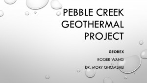 Pebble Creek Project